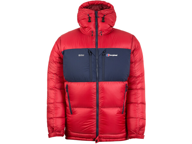 Berghaus Ramche Trans Antarctic Reflect Donsjas Heren, haute red/dusk